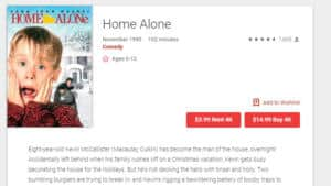 Rent or Buy Home Alone on Google Play (in 4K!)