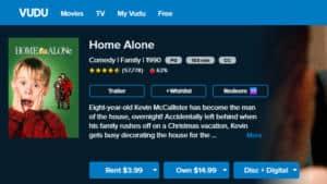 home alone vudu