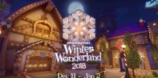 Overwatch Winter Wonderland Event