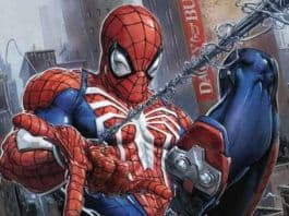 Spider-Man PS4 Comic