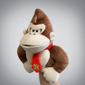 Nintendo Hand Puppets