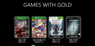 February Games with Gold
