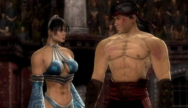 liu kang and kitana