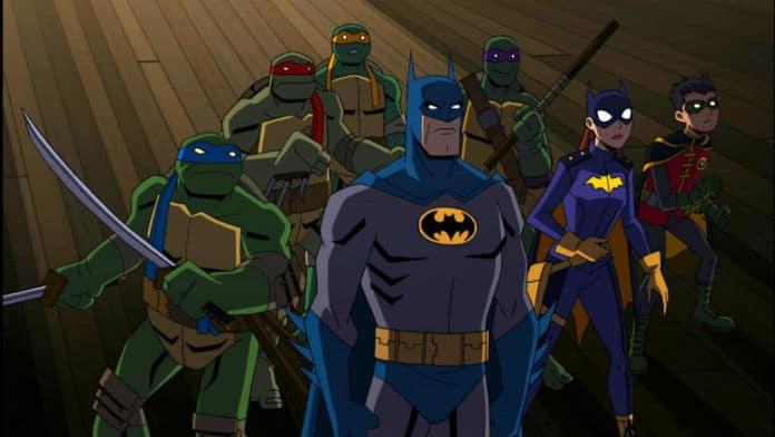 Batman Teenage Mutant Ninja Turtles Animated Movie