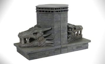 game of thrones Dragonstone Gate Bookends