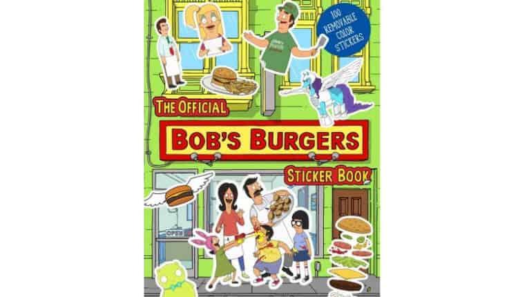 bobs burgers sticker book