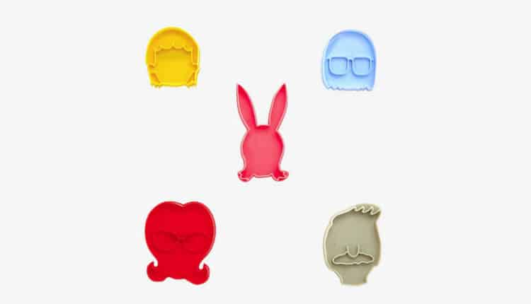 bobs burgers cookie cutters