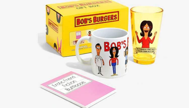 bob's burgers drink set