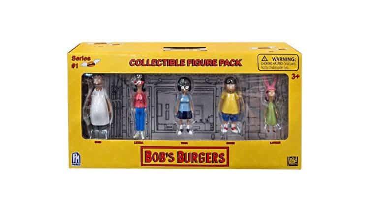 bob's burgers figure pack