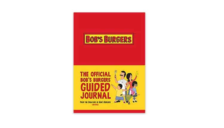 bobs burgers guided journal