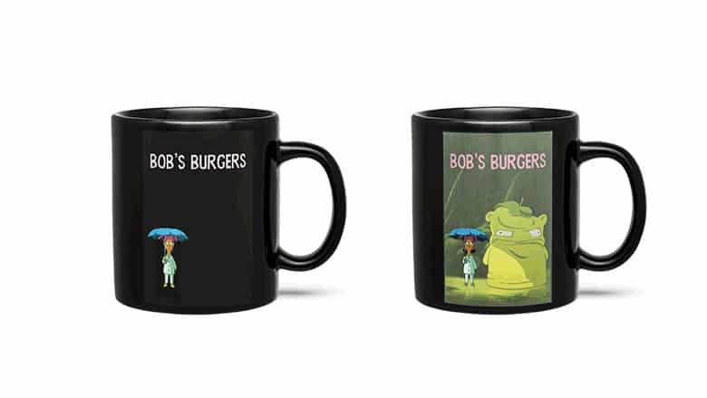 bob's burgers heat change mug