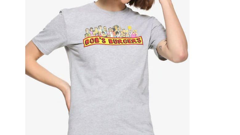 bobs burgers character t shirt