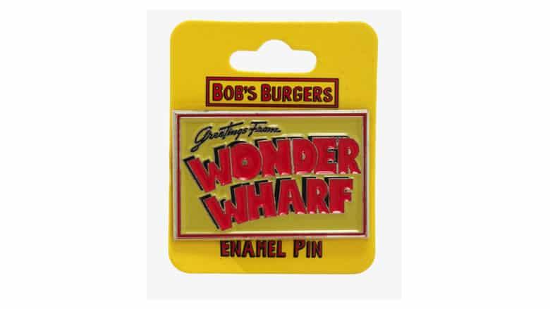 bob's burgers wonder wharf enamel pin