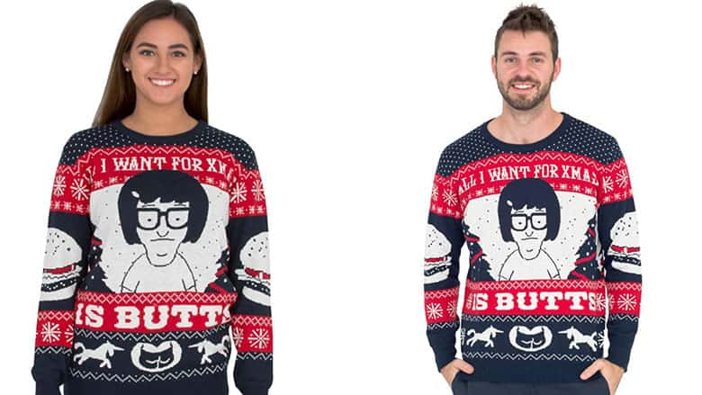 all i want for christmas is butts