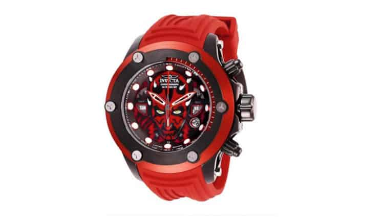 invicta darth maul watch