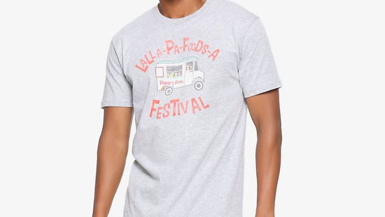 la la pa foods a shirt