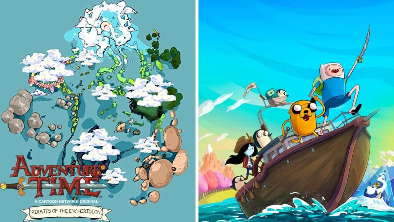 adventure time pirate game