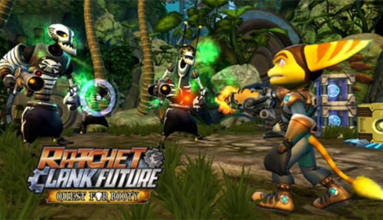 ratchet & clank pirate game