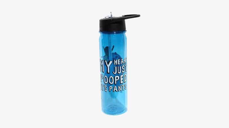 tina heart water bottle