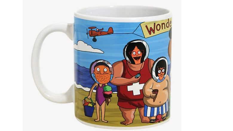 wonder wharf mug