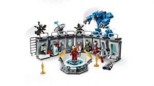 Lego Iron Man Hall of Armor Set