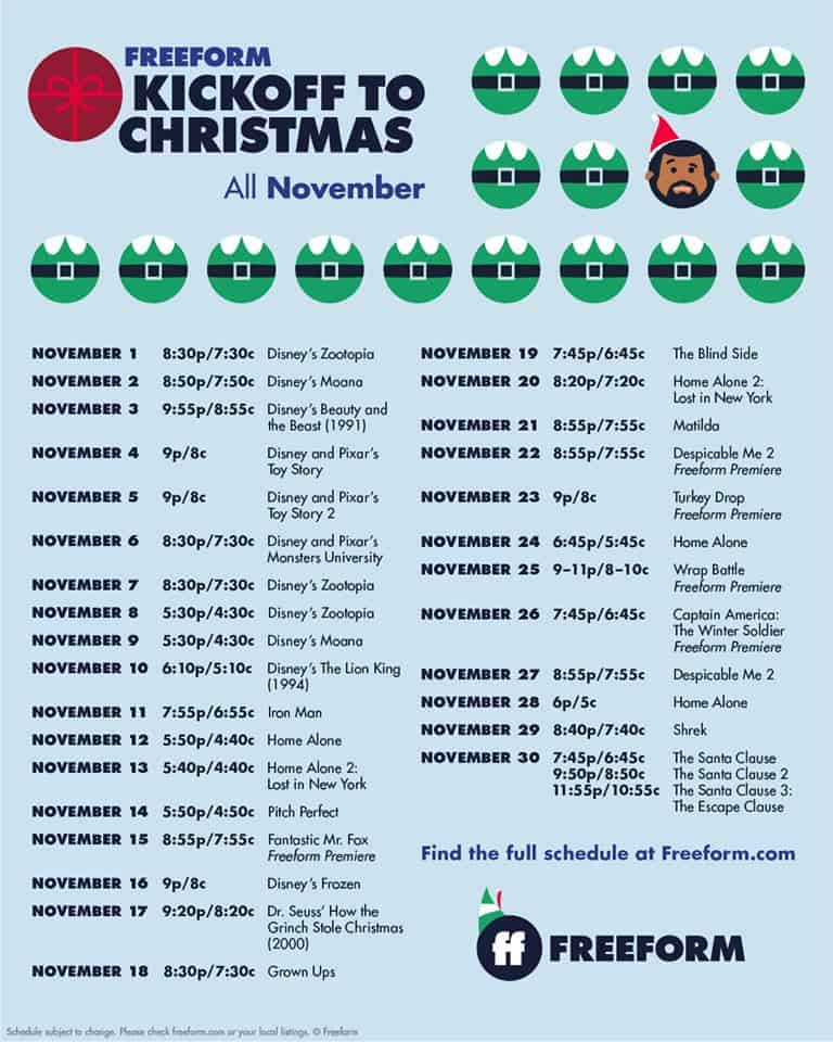 Nbc Christmas Specials 2019.Christmas Movies On Tv 2019 Schedule The Complete Guide