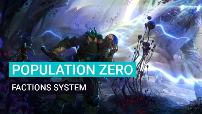 Population Zero Factions
