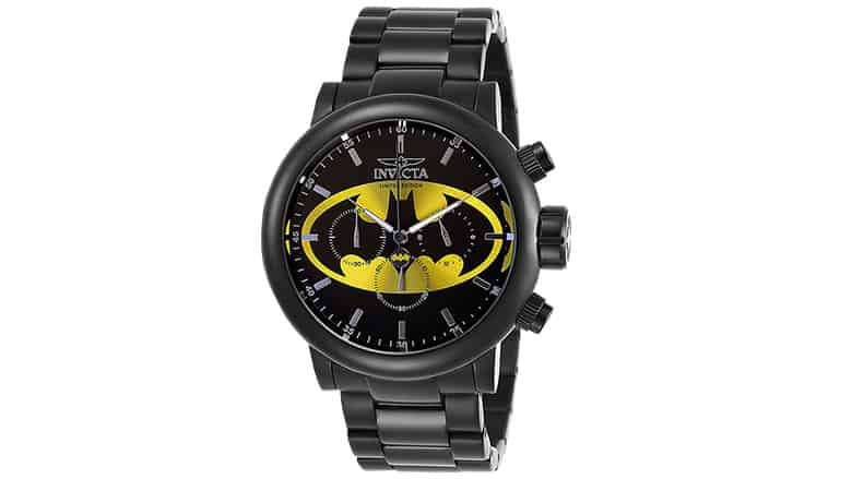 new invicta batman watch
