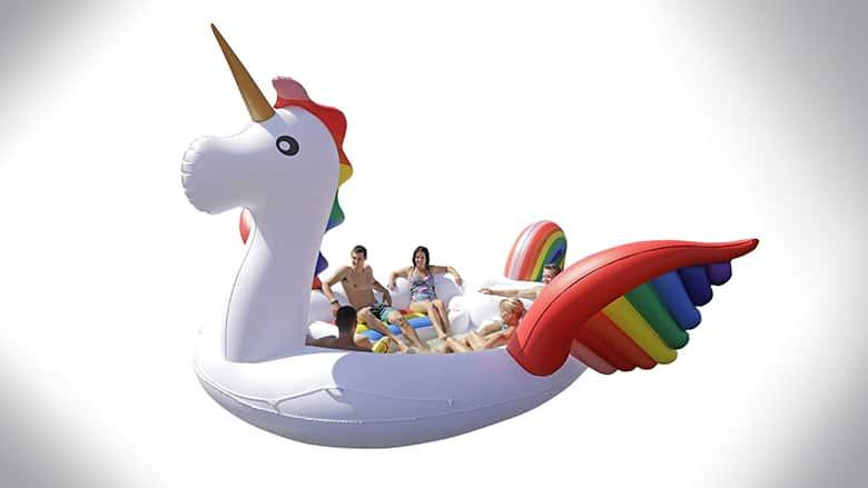 giant unicorn floats
