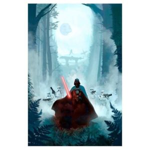 star wars art print