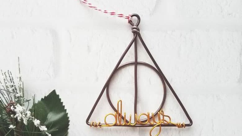 harry potter always ornamnet