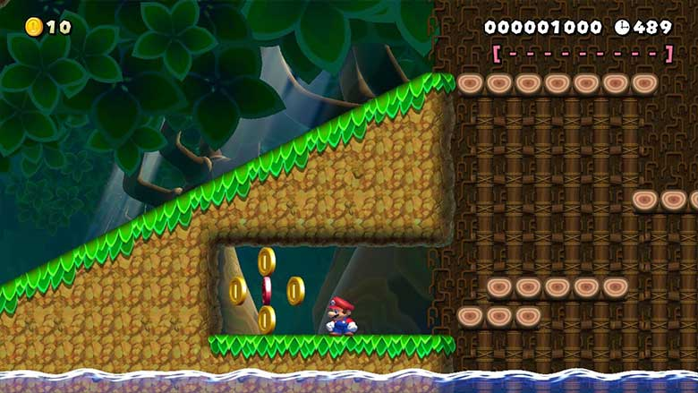 mario maker 2 calm and tranquility