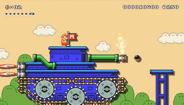 mario joins the army-o