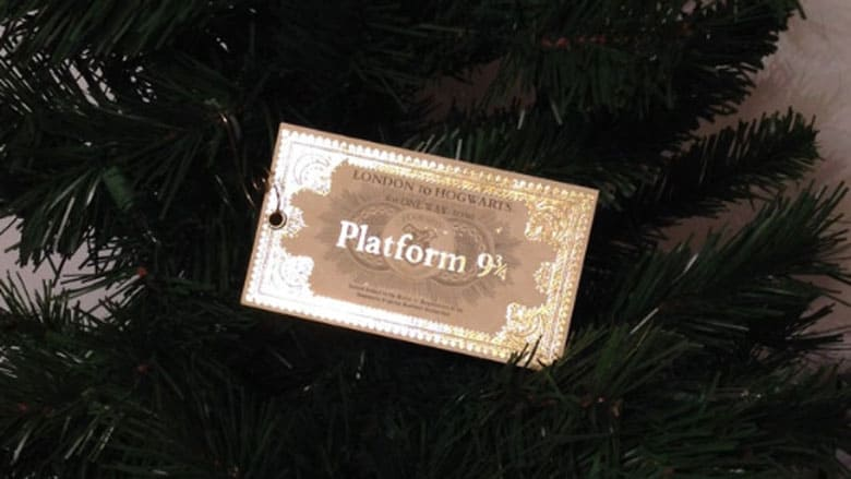 platform 94 ticket ornament