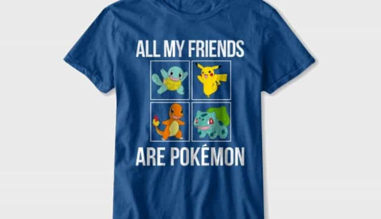 all my friends are pokemon