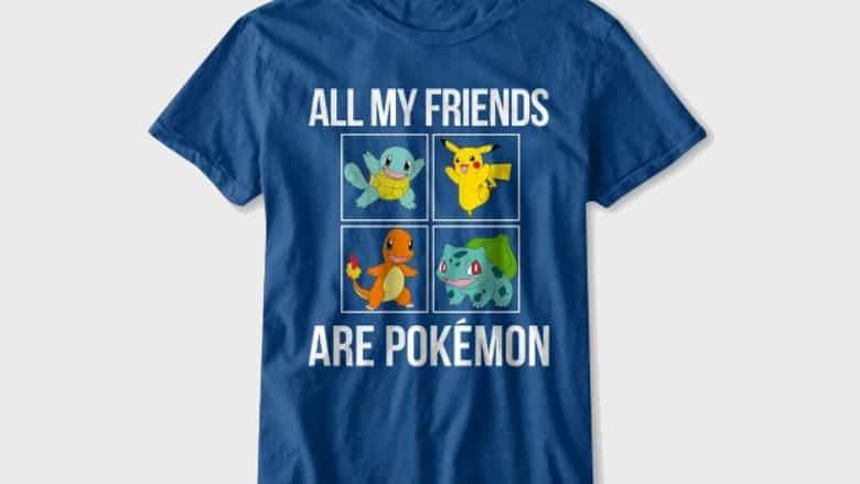 all my friends are pokemon