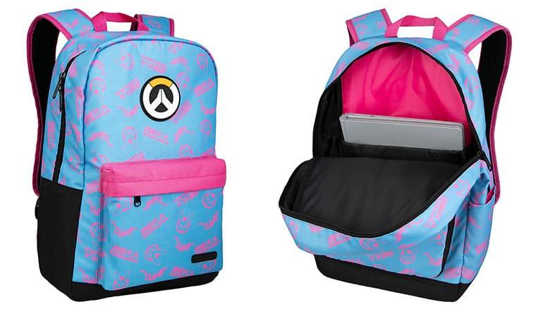 Overwatch: D Va Splash Backpack - Available Now! | Nerd Much?
