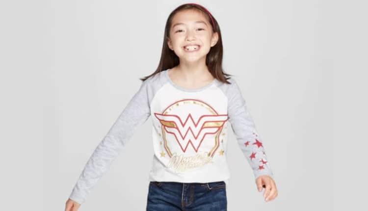 girls wonder woman shirt