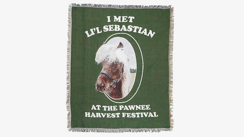 lil sebastian throw blanket