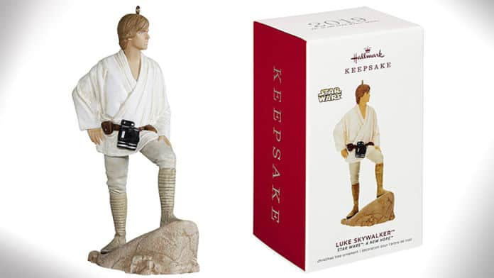 luke skywalker christmas ornament