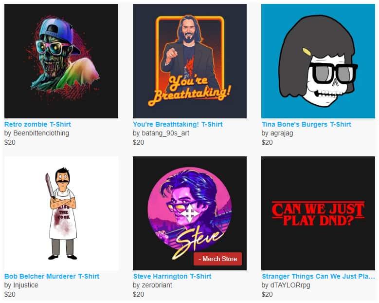 cool nerdy t-shirts