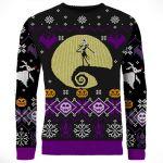 nightmare before christmas halloween sweater