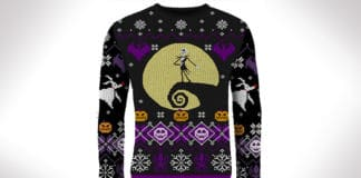 nightmare before christmas halloween sweater