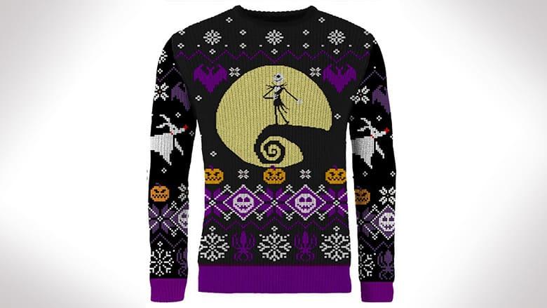 Nightmare Before Christmas Ugly Halloween Sweater