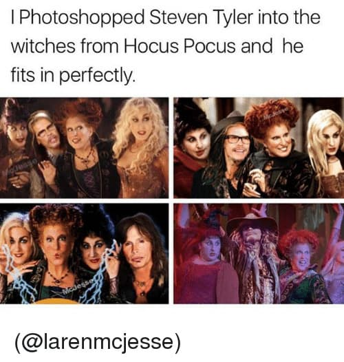 steven Tyler hocus pocus