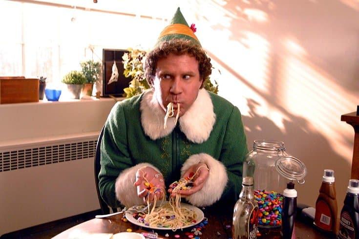 buddy the elf spaghetti