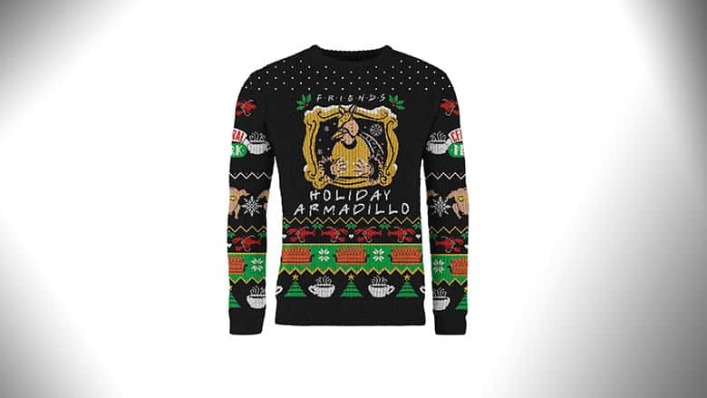 Christmas Armadillo Friends.Friends Christmas Sweater The One With The Holiday