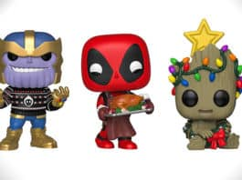 marvle holiday funko pop figures