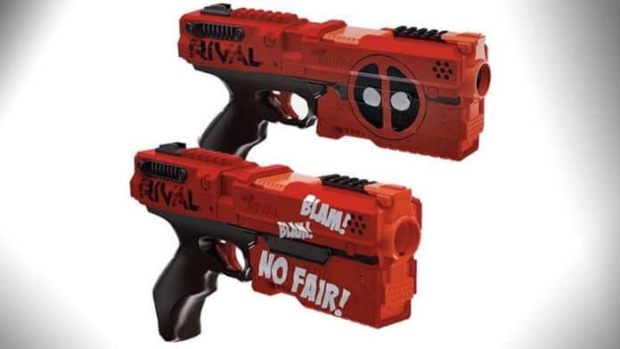 deadpool nerf guns
