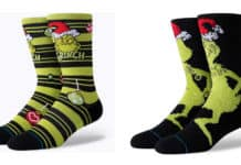 the grinch stance socks